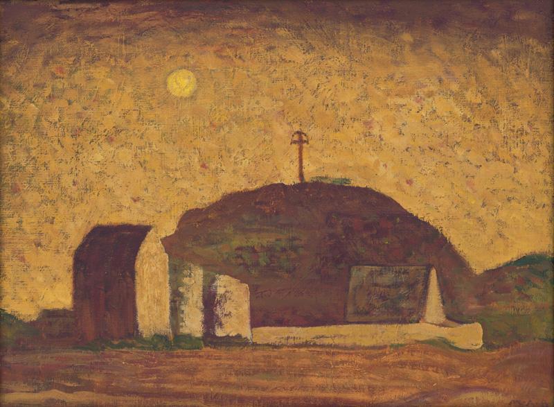 Miloš Alexander Bazovský - Samota, 1950–1951, Galéria Miloša Alexandra Bazovského, GBT