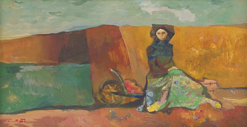 František Kudláč - Ticho a samota, 1965, Galéria Miloša Alexandra Bazovského