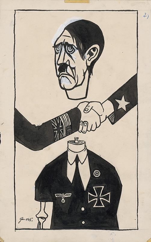 Ladislav Guderna - Satirická kresba 2.
