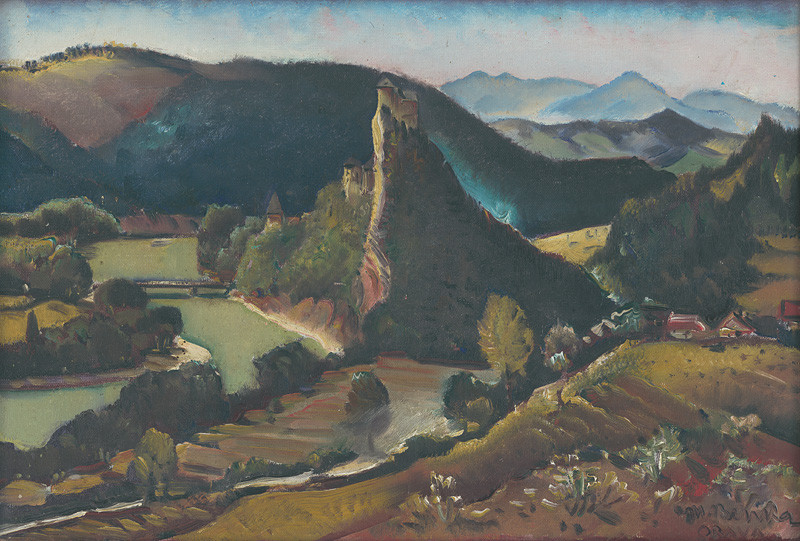 Martin Benka - Orava, 1928-1930