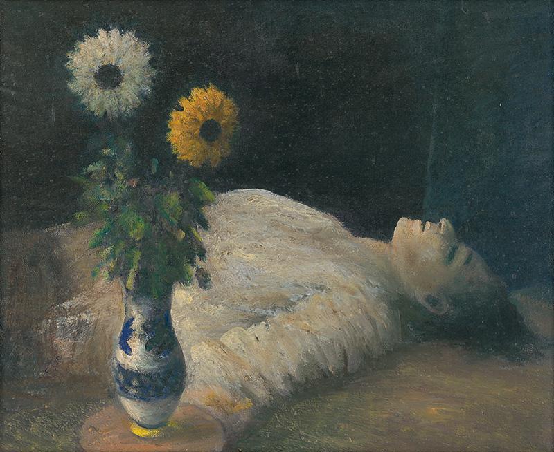 Ján Mudroch - Zavraždený básnik, 1941, Liptovská galéria Petra Michala Bohúňa