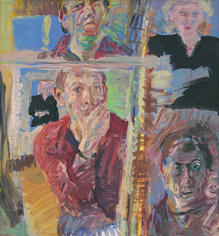 Ján Berger - Pohľady na seba, 1987, Liptovská galéria Petra Michala Bohúňa