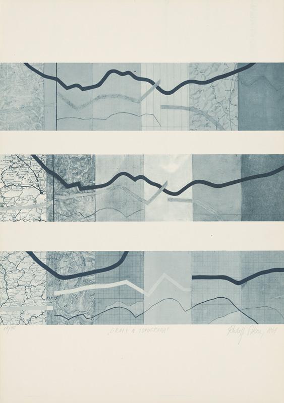 Rudolf Sikora - Grafy a topografia (1969), Liptovská galéria Petra Michala Bohúňa, GPB