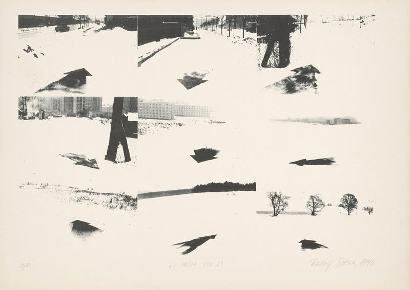Rudolf Sikora - Z mesta von I., 1970, Liptovská galéria Petra Michala Bohúňa, GPB