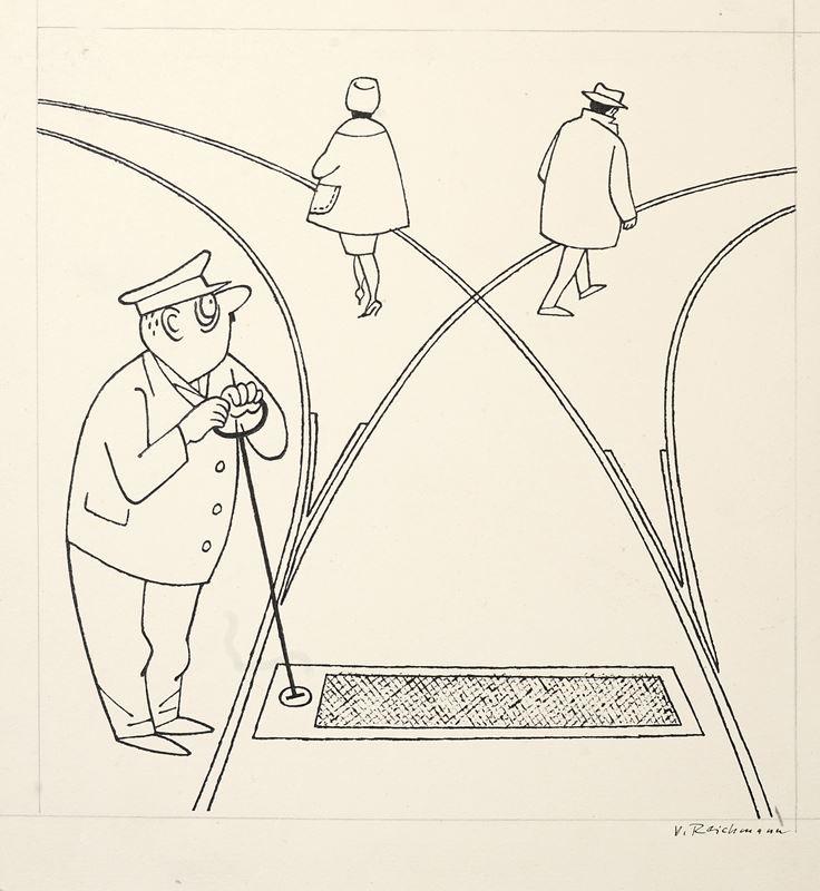 Vilém Reichmann zv. Jappy - Výhybka, Moravská galerie