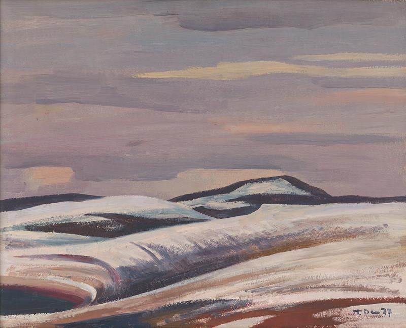 Peter Pavlovič Ossovskij - Oravská zima, 1977