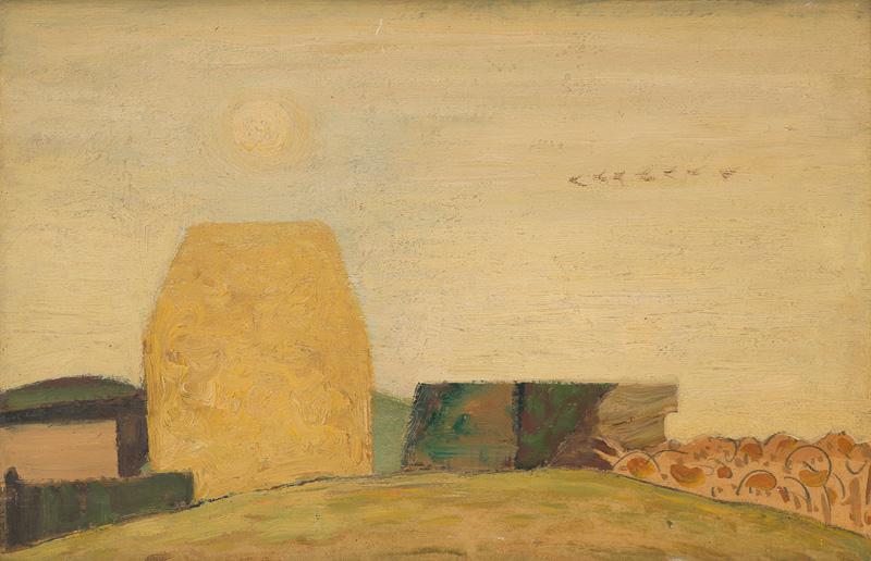 Miloš Alexander Bazovský - Samota (1950-1953), Oravská galéria, OGD