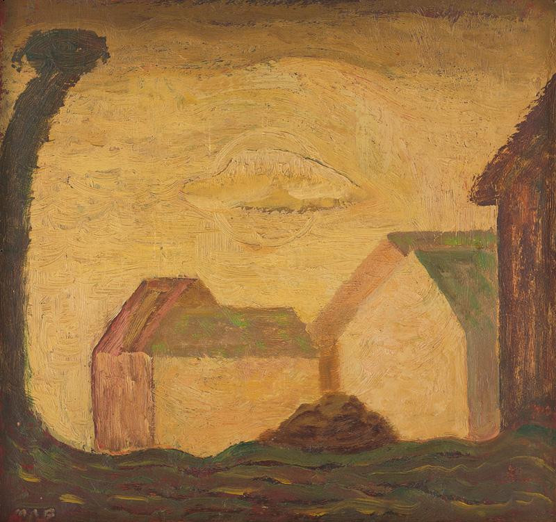 Miloš Alexander Bazovský - Slnce života (1954-1955), Oravská galéria, OGD
