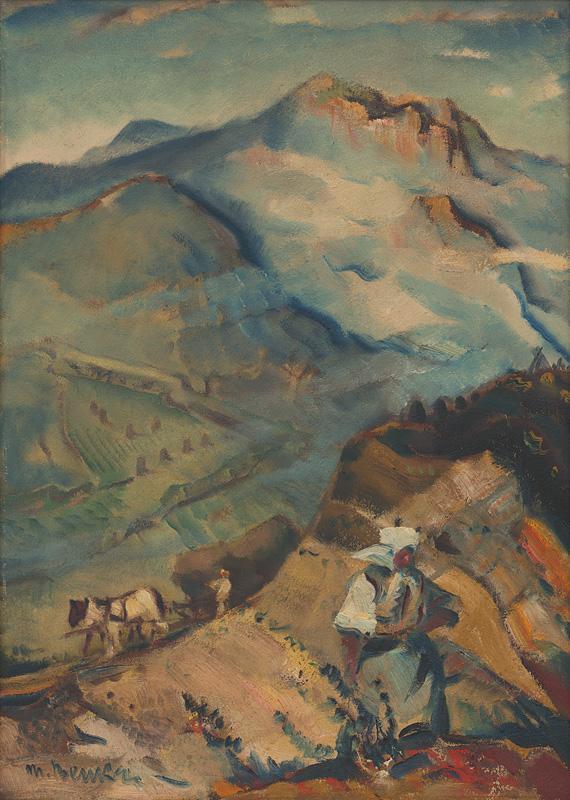 Martin Benka - Motív z Oravy, 1935–1940