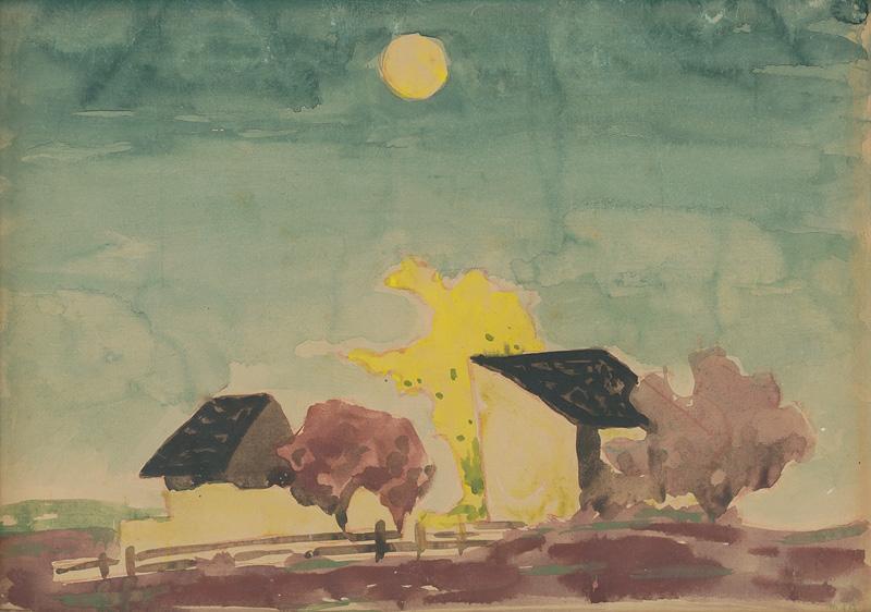 Miloš Alexander Bazovský - Samota (1949–1952), Oravská galéria, OGD