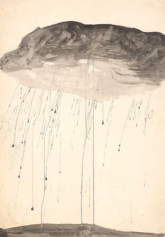 Mikuláš Palko - Prší II. (1972), Oravská galéria, OGD