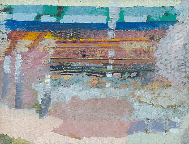 Ján Berger - Odraz, 1988, Oravská galéria
