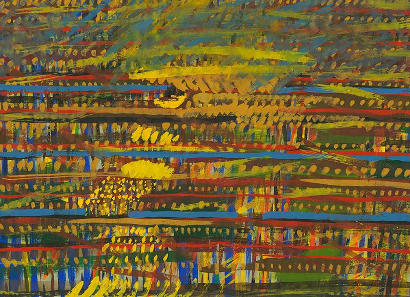 Ján Berger - Polia, 1987, Stredoslovenská galéria