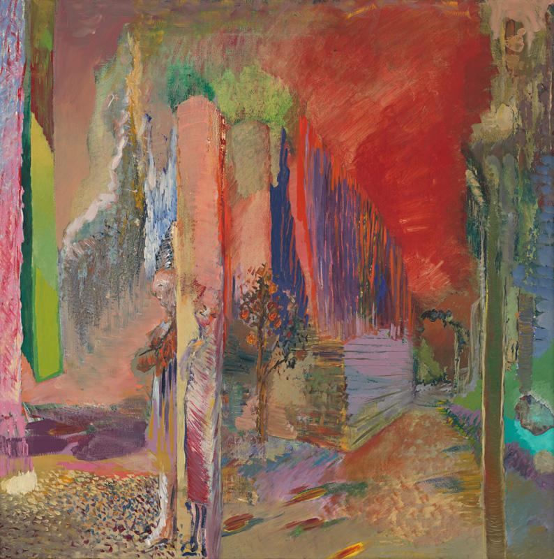 Ján Berger - Sám, 1982, Stredoslovenská galéria