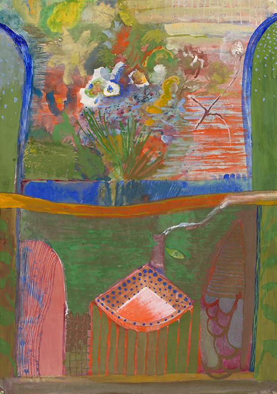Ján Berger - S večernou rosou, 1972, Stredoslovenská galéria