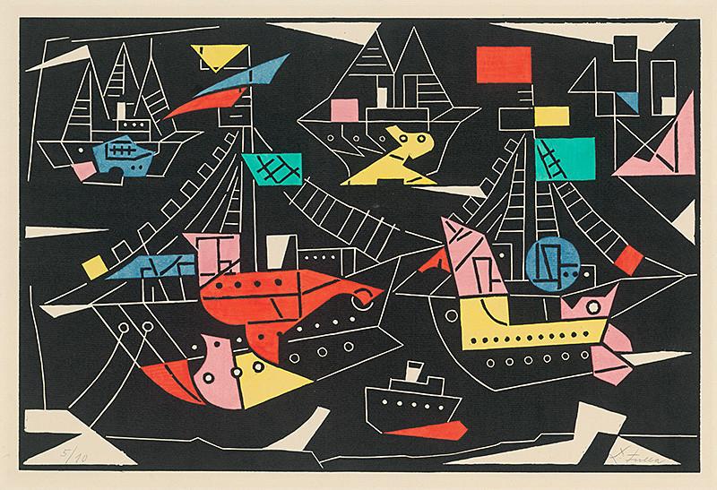 Ľudovít Fulla - Spomienka na more (1961), Slovenská národná galéria, SNG