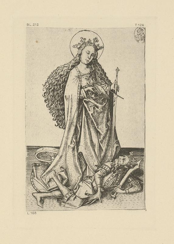 Majster E.S. - Sv. Katarína