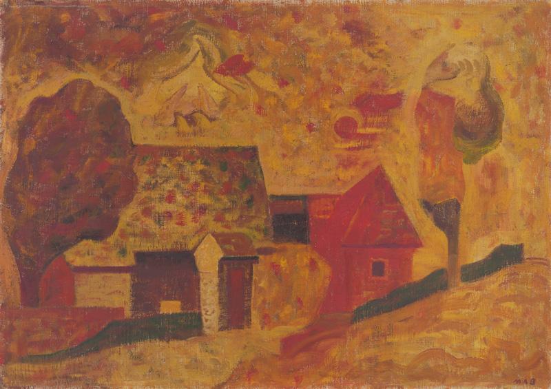 Miloš Alexander Bazovský - Horúci deň (1955–1956), Slovenská národná galéria