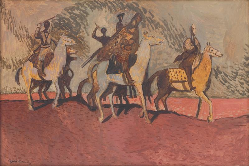 Cyprián Majerník - Ružový piesok (1938)