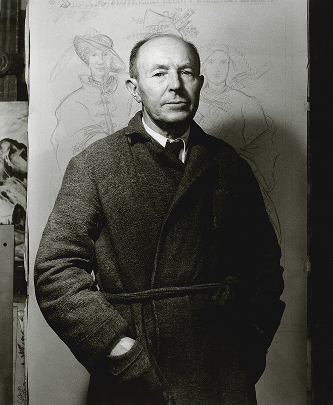 Karol Kállay - Martin Benka, 1947, Slovenská národná galéria