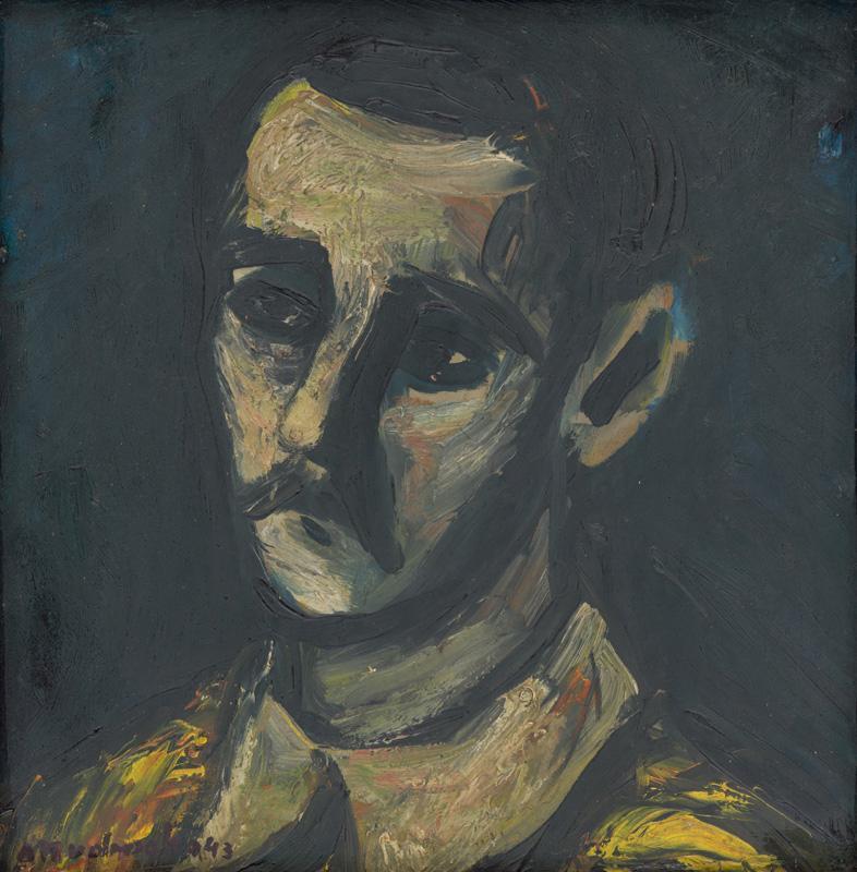 Ján Mudroch - Vlastná podobizeň, 1943