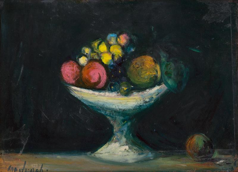 Ján Mudroch - Zátišie s ovocím, okolo 1942