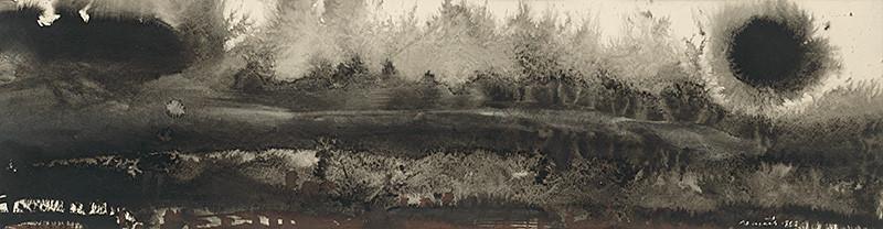 Július Nemčík - Jazero I. (1963), Slovenská národná galéria, SNG