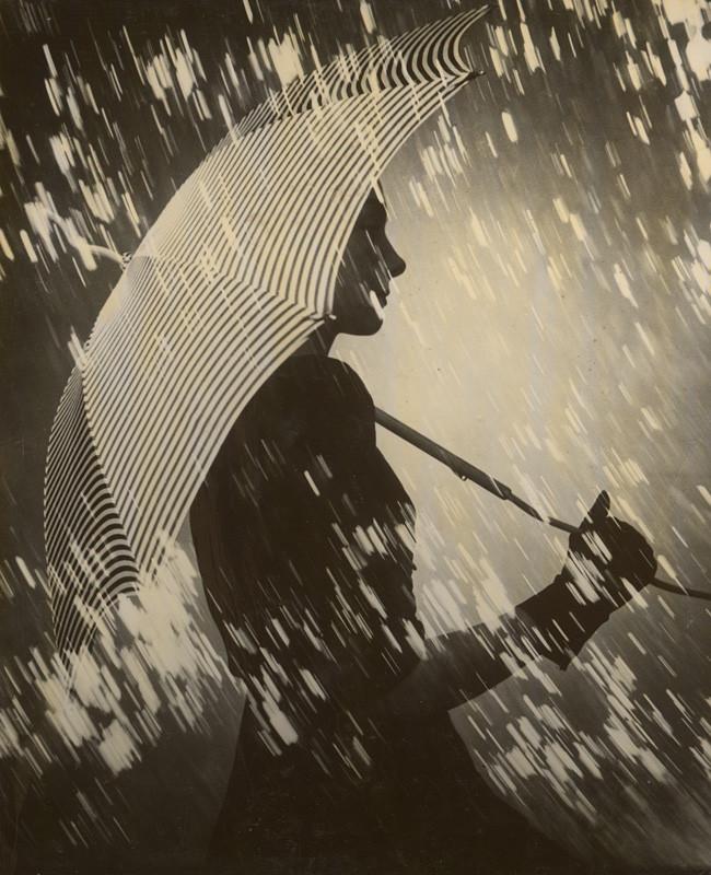 François Kollar: V daždi. 1940