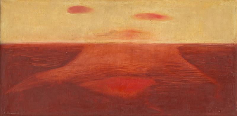 Dezider Milly - Horizont (1965), Slovenská národná galéria, SNG