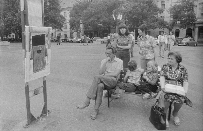 Ján Budaj, Dočasná spoločnosť intenzívneho prežívania - Simulácie, 1978, Slovenská národná galéria