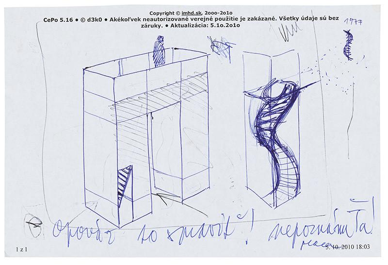 Michal Moravčík – Universal (prvý návrh), 2010, Slovenská národná galéria