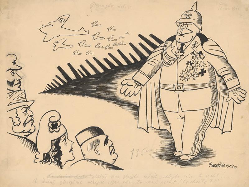 Štefan Bednár - Göringov údiv, 1935