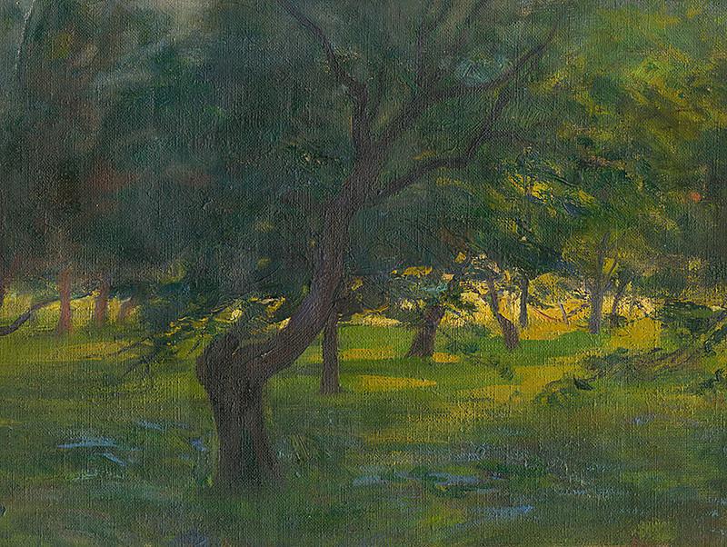Ľudovít Pitthordt - Krajina, okolo 1910