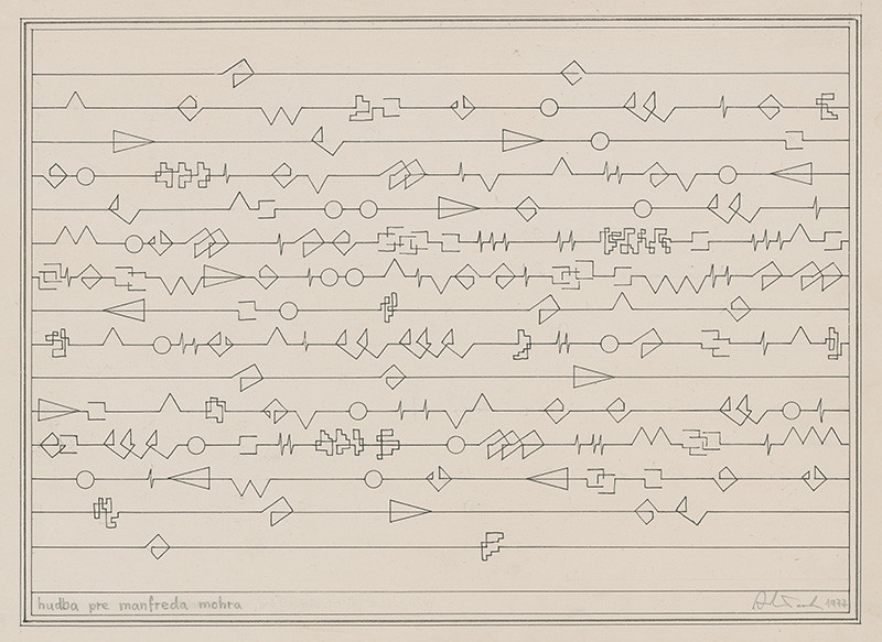 Milan Adamčiak - Hudba pre Manfreda Mohra , 1977