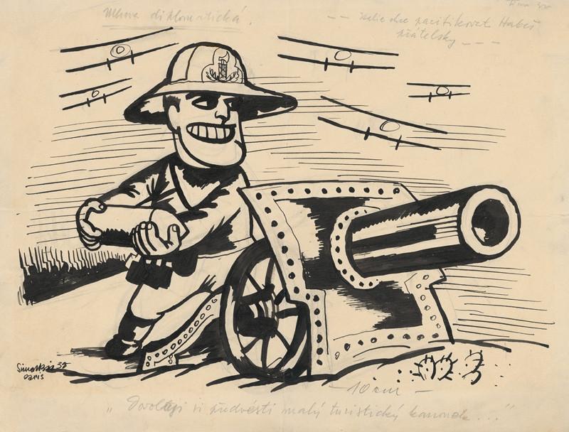 Štefan Bednár - Mussolini: Taliansko chce pacifikovať Habeš priateľsky, 1935