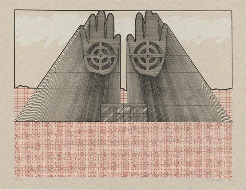Jozef Jankovič - Architektúry III. Návrh pamätníka slovenského sochárstva, 1976