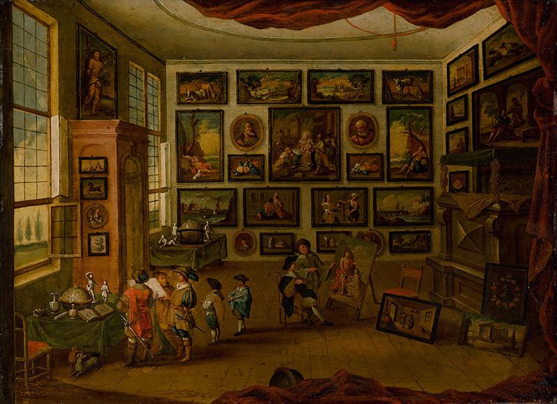 Hans Jordaens III., Ferdinand Apshoven – Kabinet umenia (1660–1680), Slovenská národná galéria, SNG