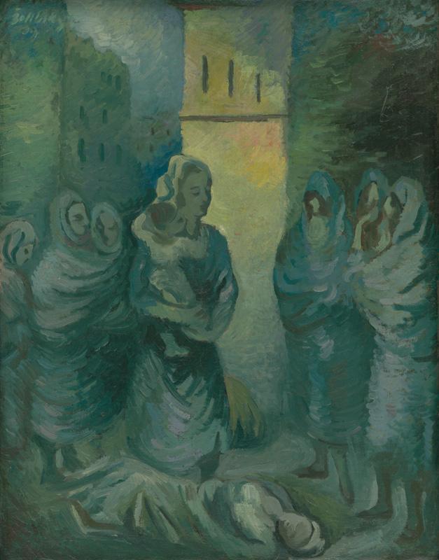 Ján Želibský - Po nálete