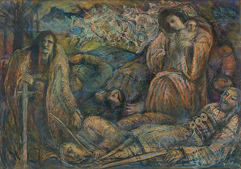 Janko Alexy - Mojmír's Death II.
