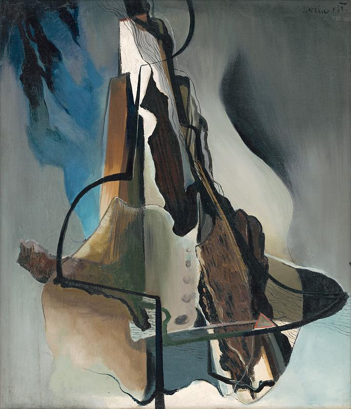 Imrich Weiner-Kráľ - Tatry (1933), Slovenská národná galéria, SNG