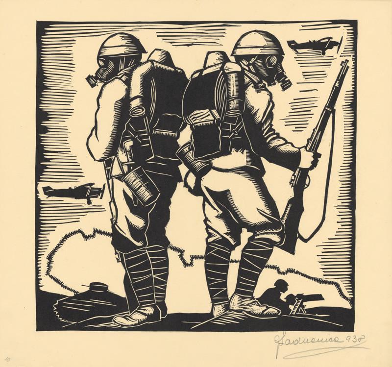 Ján Ladvenica - List z albumu Boj za slobodu X., 1938