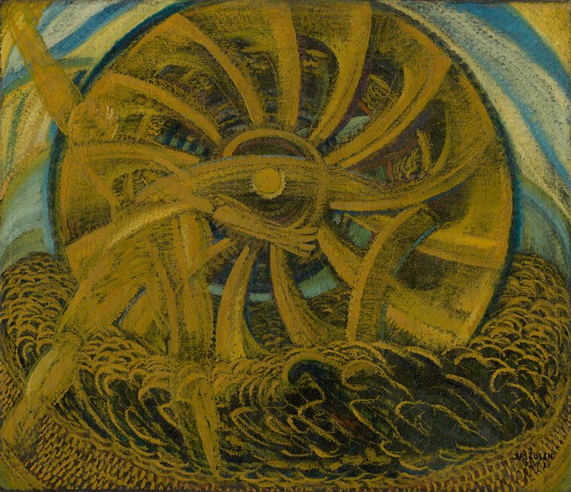 Anton Jasusch - Žltý mlyn, 1922, Slovenská národná galéria