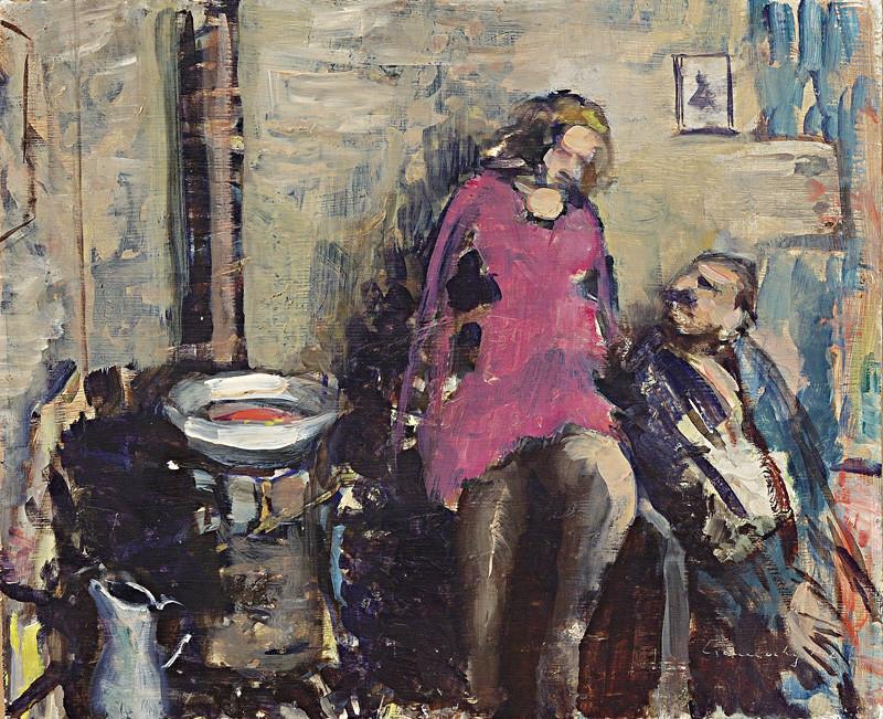 Ladislav Čemický - Motív z Vydrice (1942), Slovenská národná galéria