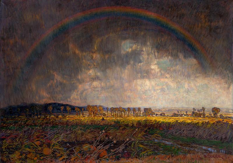 Martin Benka - Po búrke, 1918, Slovenská národná galéria