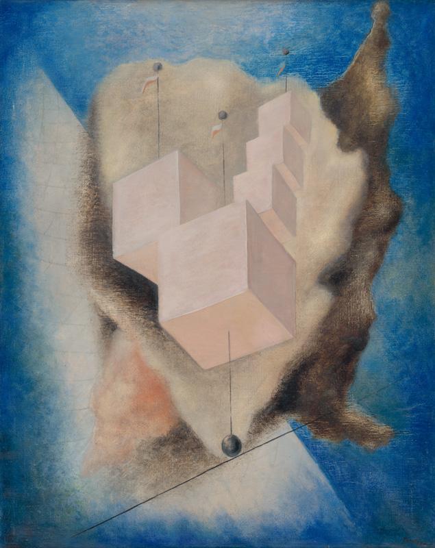 František Malý - Povrazolezec (1934), Slovenská národná galéria, SNG