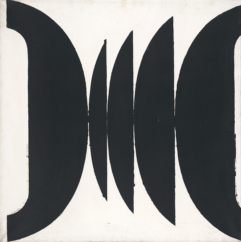 Miloš Urbásek - Théma 0-35 (diptych), 1966