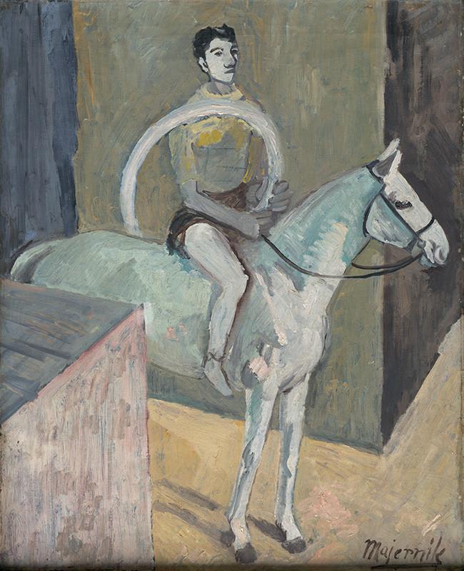 Cyprián Majerník – Cirkusový jazdec, 1937 – 1978,  Slovenská národná galéria