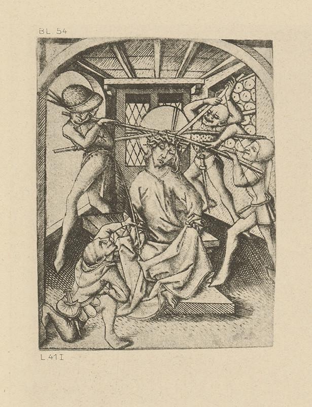Majster E.S. – Korunovanie Krista tŕňovou korunou I.