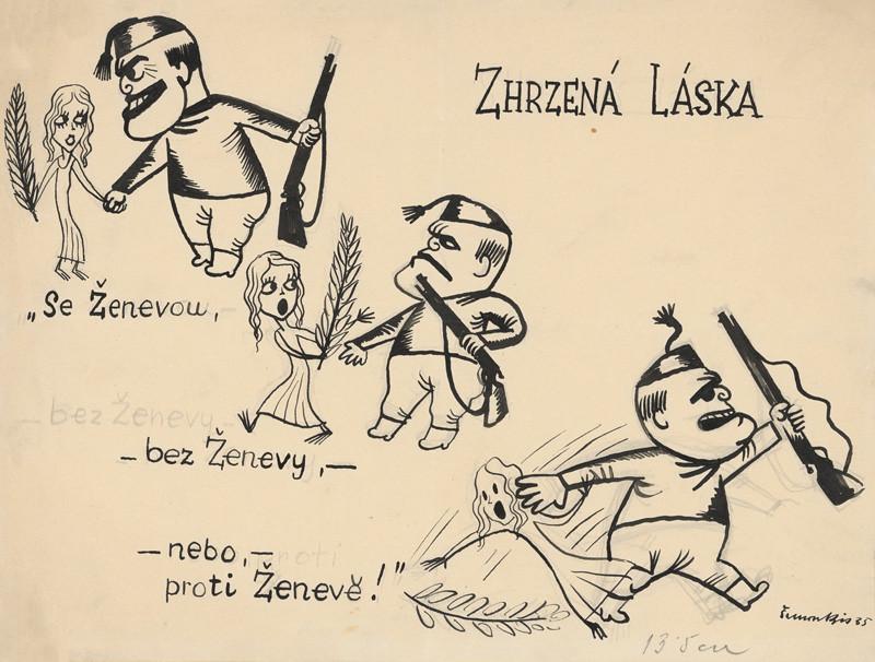 Štefan Bednár - Zhrzená láska, 1935