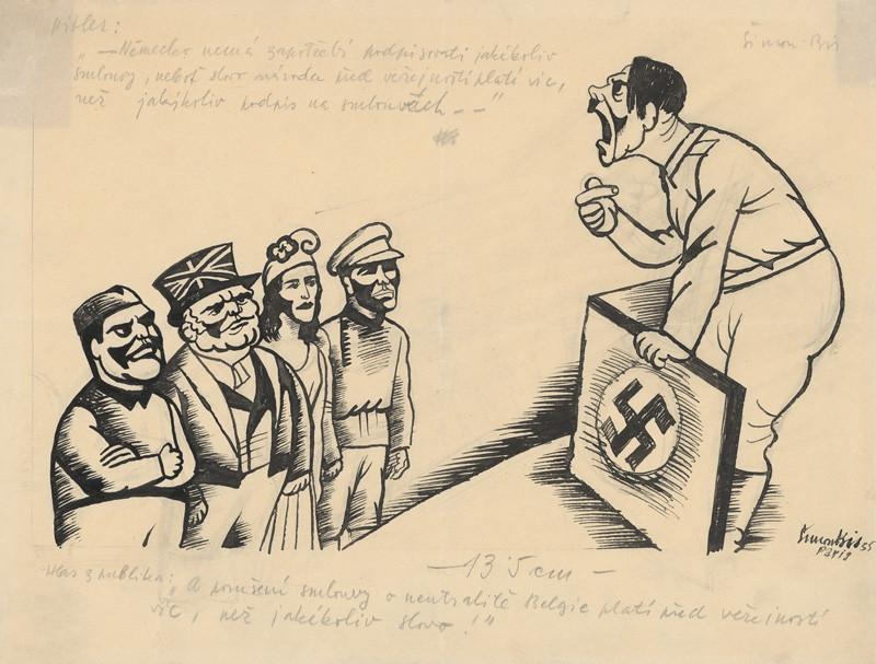 Štefan Bednár - Hitler reční pred Sovietskym zväzom, Franciou, Anglickom a Talianskom, 1935